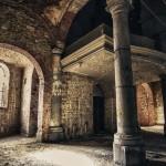Verlaten kerk 'Gravestone Church'