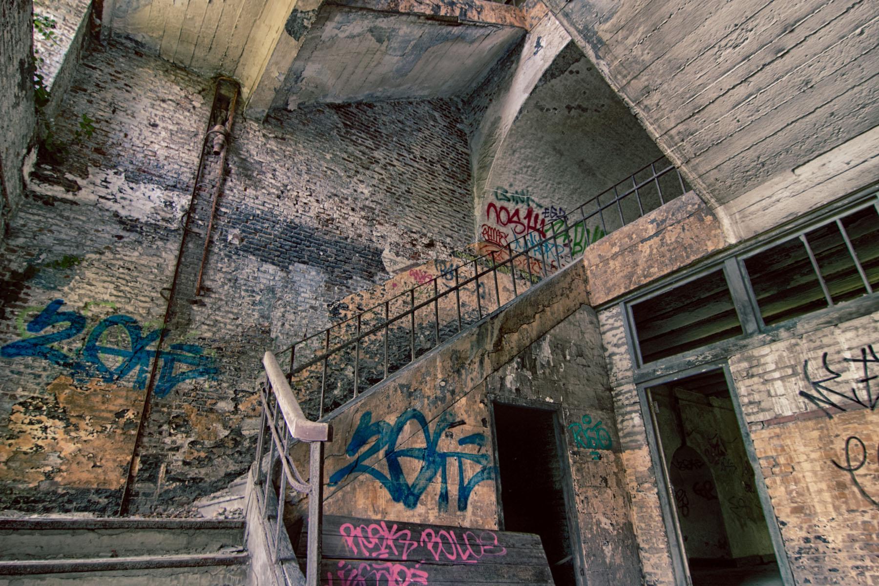 Urbex Fort Chartreuse Luik  Urban exploring locaties en